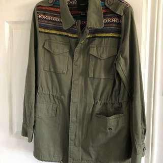Army women's jackets / tops