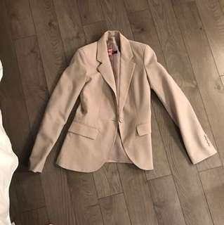 Cream blazer