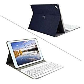 "BLACK iPad Pro 9.7"" Detachable Bluetooth Keyboard Case"