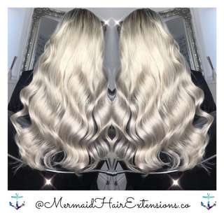 ✨Mermaid✨Hair✨Extensions✨ Top trusted hair extension services✨