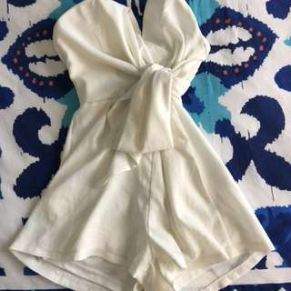 Loving Things White Playsuit 6