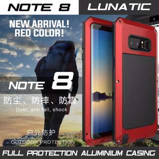 SAMSUNG NOTE 8 METAL CASING FULL PROTECTION. READY STOCK