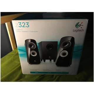 Logitech Z323 2.1 speakers