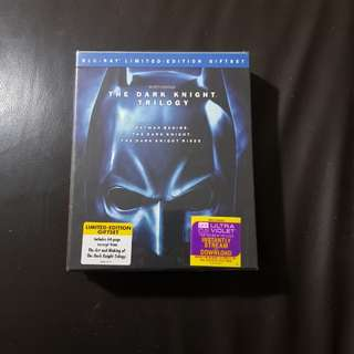 The Dark Knight Trilogy LE Blu-Ray Giftset - Region A