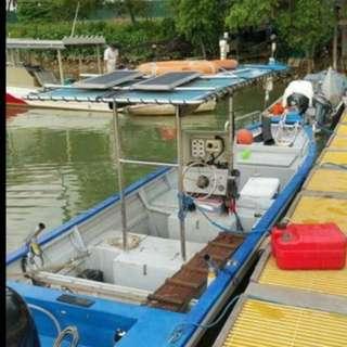 Boat (Suzuki 140hp engine less dan 400hour)