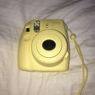 Yellow Polaroid Instax Mini 8