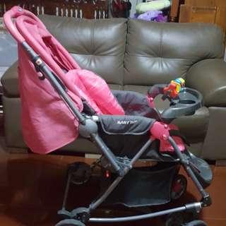 Stroller in color Pink