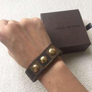AUTHENTIC LV LOUIS VUITTON Damier Bracelet