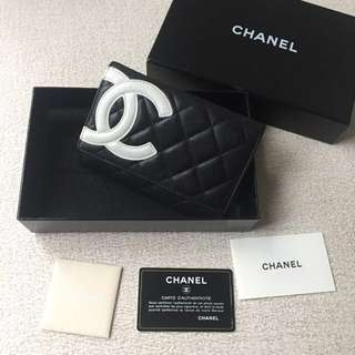 AUTHENTIC CHANEL Cambon Wallet / Purse