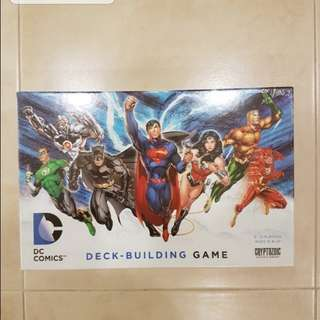 DC Deck Building Brand New Board Game