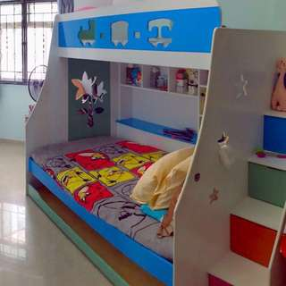 Cool bunk bed for kids and adults