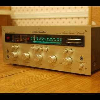 Marantz 24 Stereo Preamplifier / Stereo AM/FM Tuner (1971)