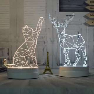 3D Night Light / Decoration