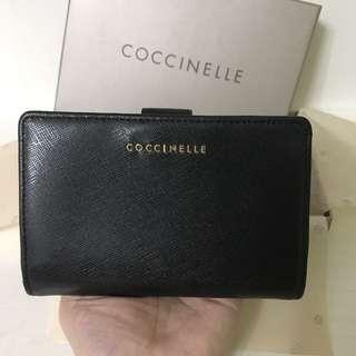 全新Coccinelle銀包