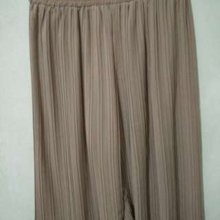 Slit brown kulot 7/8