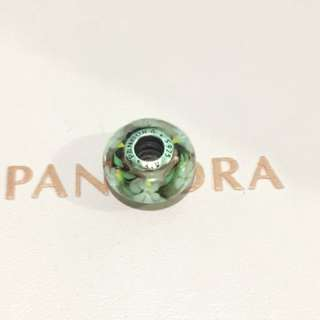 Authentic Pandora Wildflower Murano w/ sparkling cubic zirconia stones