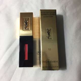 YSL GLOSSY STAIN SHADE 12 CORAL