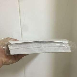 White envelopes- 80 pieces