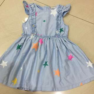 Toddler Denim Dress Year 3-4