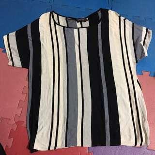 🚚 EPISODE/size:L/極致柔軟針織直條紋上衣,真的非常柔軟舒服哦!