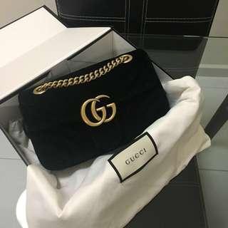 BNIB Gucci Marmont Mini Velvet bag
