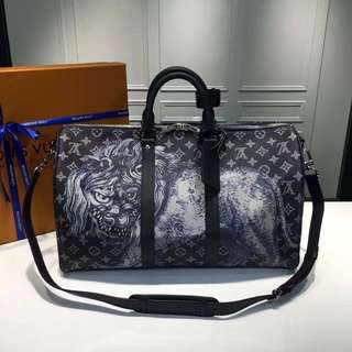 TravelBag LV Keepall the Lion