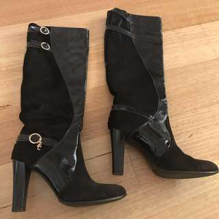 Versace Over The Knee Boots (39)