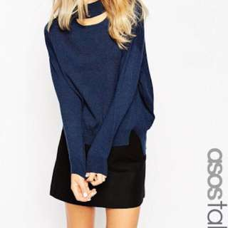 ASOS TALL High Neck Jumper With Cut Out *REDUCED*