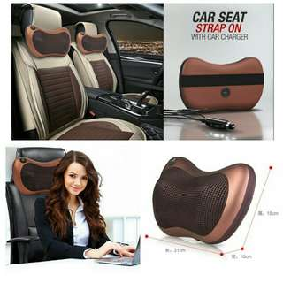 Car and Home Hot Compress Massage Pillow車用及家用熱療按摩枕