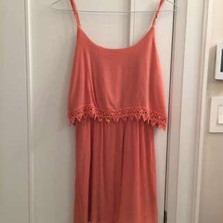 Forever 21 Burnt Orange Dress