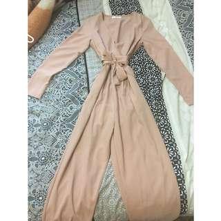 ** SALE ** - Long Sleeve Jumpsuit