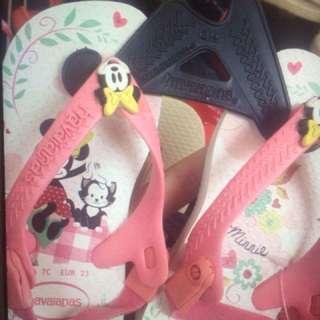 🚚 Havaianas 哈瓦仕 米妮幼兒拖鞋 #我的嬰幼可超取