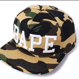 Selling Bape 1st Camo Snapback
