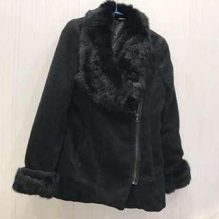 🚚 原價5000正韓貨高質感黑色毛大衣