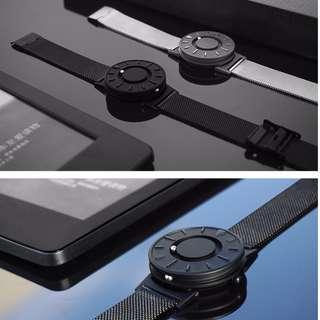 eoeo磁力無指針概念 男女手錶