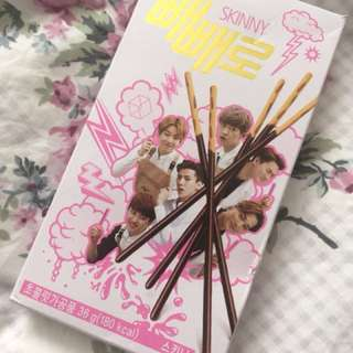 exo pepero box SUPER RARE LOL