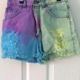 Levi's Tie Dye Shorts