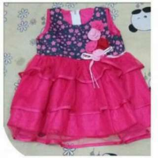 Dress baby sz 1 thn (2pc)