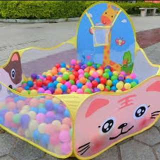 Tent toy for kids balls is not include