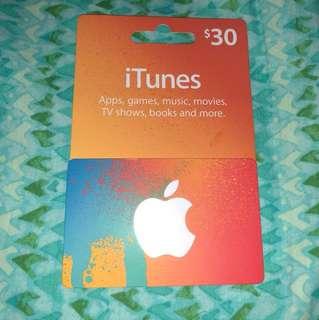 iTunes gGft card