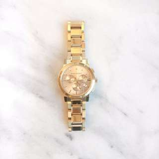 Burberry Gold Watch BU9753