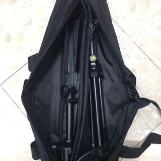 大譜架 麥克風架 燈架 攜行袋 收納袋 可裝兩支 攜帶方便 加厚保護 譜架包 燈架包 麥克風架包