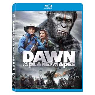 🆕 Dawn of the Planet of the Apes Blu Ray