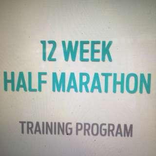 Half Marathon Running Training Program