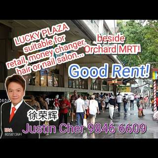 Lucky Plaza commercial shop for rent