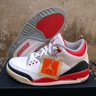 Air Jordan Retro 3 Fire Red
