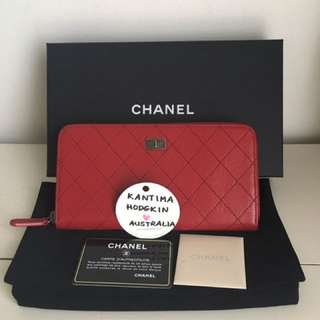 Authentic Preowned Chanel Zip Wallet