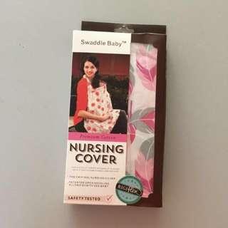 Nursing Cover Pink Color 100% Cotton