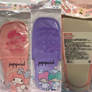 Little Twin Stars My Melody Travel Disposable Bedroom Slippers