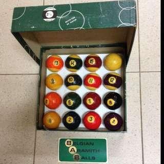 Pool Balls - Aramith Brand